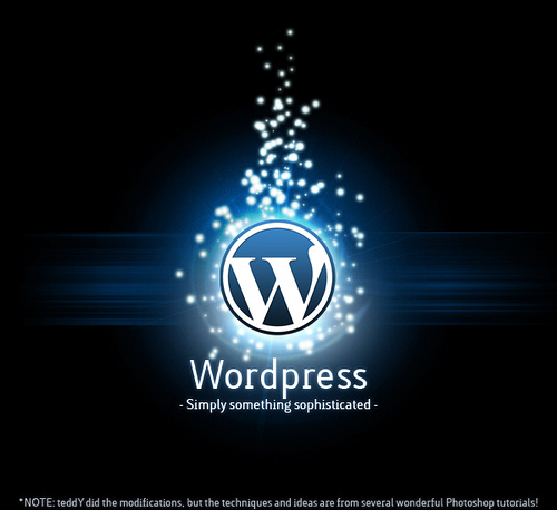 WordPress Dark