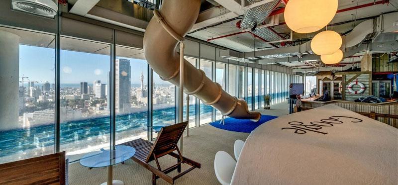 Google's office at Tel Aviv