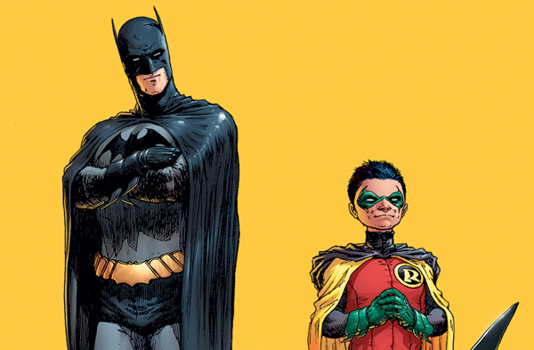 Batman's junior squad Image: http://www.comicvine.com/forums/battles-7/batman-and-robin-vs-captain-america-and-bucky-689187/