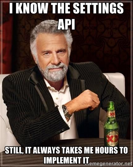 settings-api-implementation
