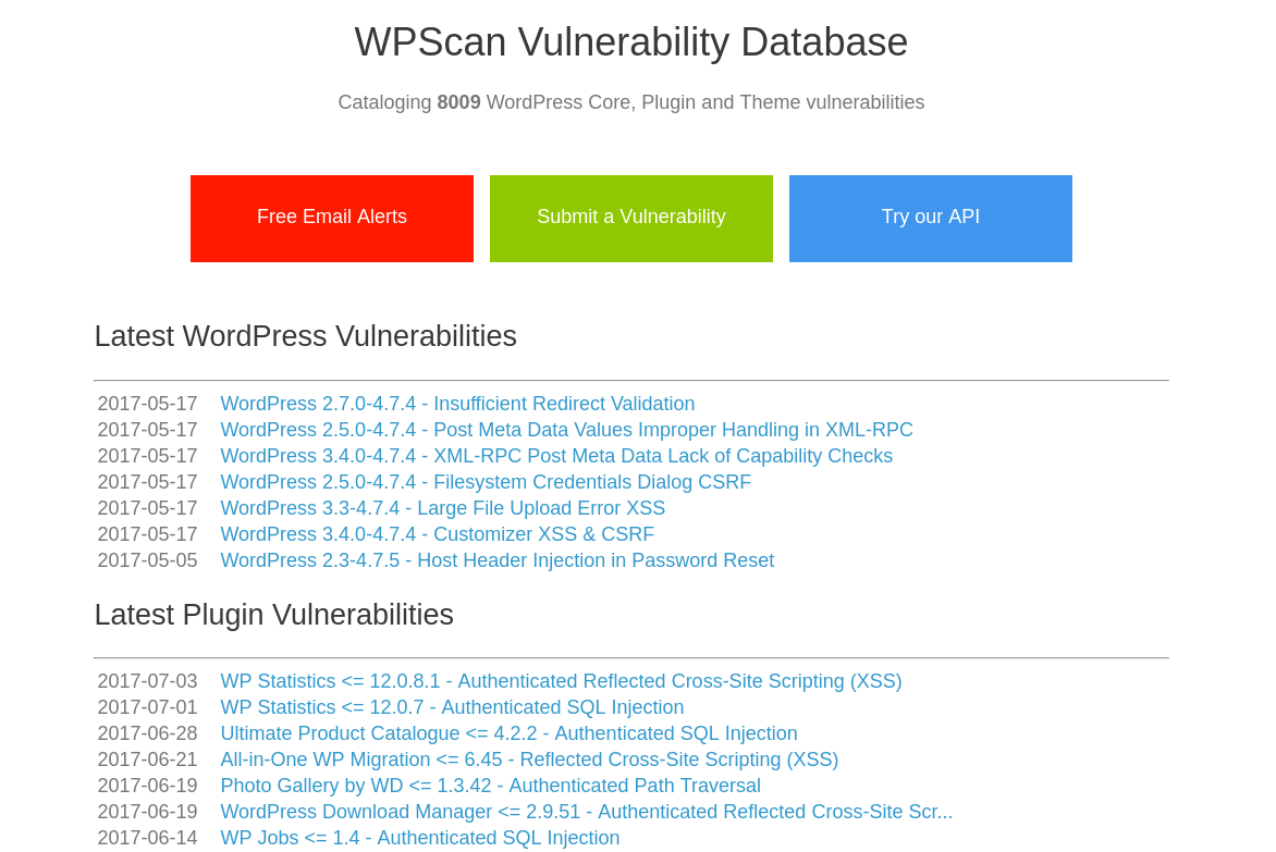 database vulnerabilities Over 185,239 vulnerabilities,  risk based security is honored to serve the vulnerability and cyber risk intelligence needs of organizations both large and small.